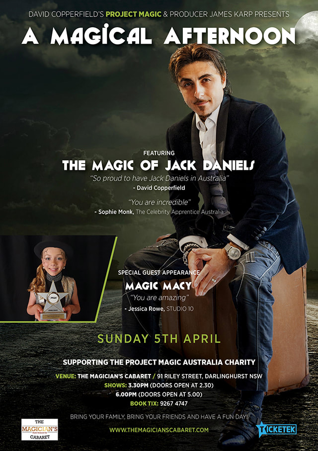 Jack Daniels Magic, Sydney magician hire, Sydney magicians, event magician, roving magician, Sydney, how to do magic