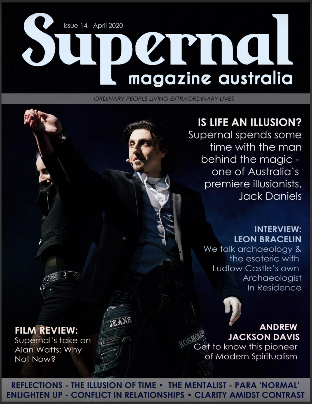 Jack Daniels, Sydney magician, Sydney Illusionist, news, Today, interview, cover 19, entertainment, Sydney events